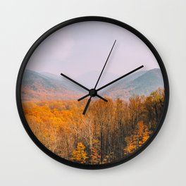 The Mountains Know the Fire is Coming Wall Clock
