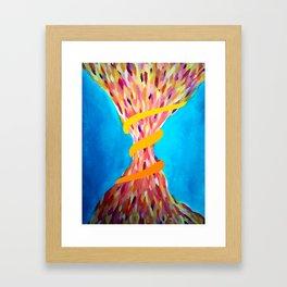 Color Funnel Framed Art Print