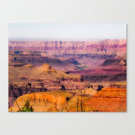 desert view at Grand Canyon national park, USA Canvas Print