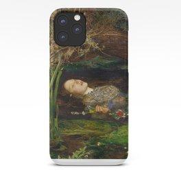 Ophelia, John Everett Millais iPhone Case