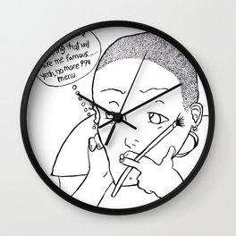 99 cents Wall Clock