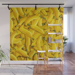 Too many bananas Wall Mural