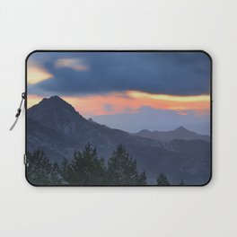 Dream sunset. At the mountains... Laptop Sleeve