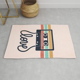 Vintage Love Songs Rug