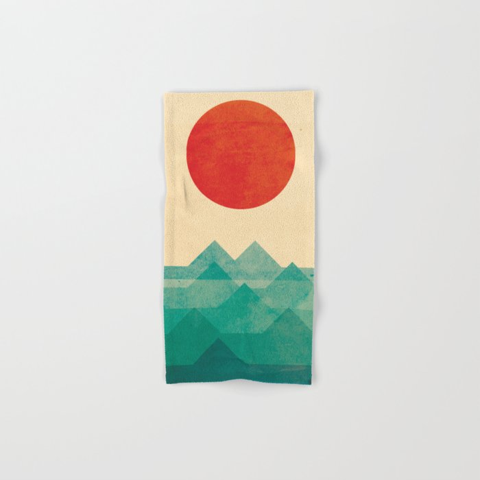 The ocean, the sea, the wave Hand & Bath Towel