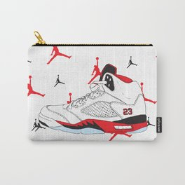 Jordan 5 Fire Red Carry-All Pouch