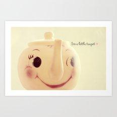 I'm a Little Teapot Art Print
