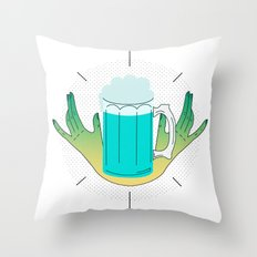 the best beer in the world Throw Pillow