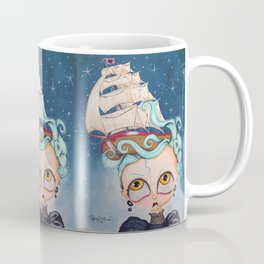 A Ship at Sea is Sure to Flee Coffee Mug