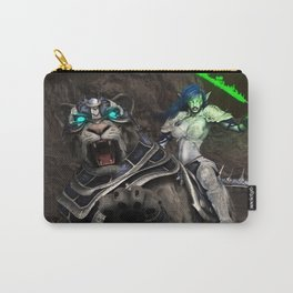 Moon elf beast rider Carry-All Pouch