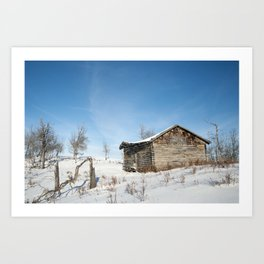 Noon Sun Farm 12 Art Print