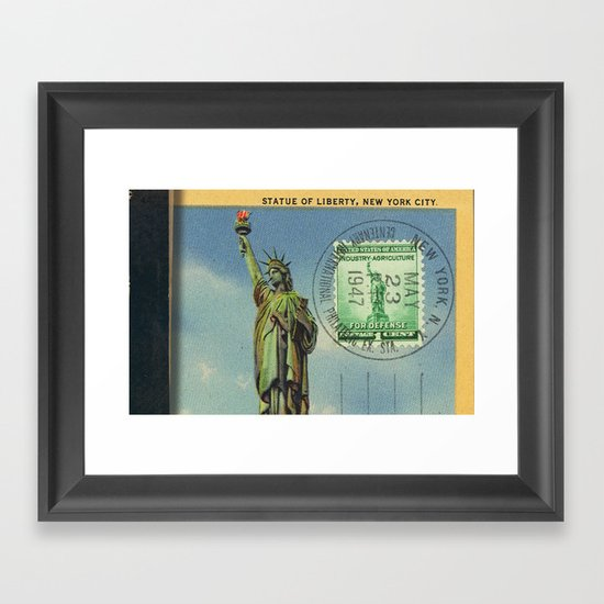 Liberty Framed Art Print