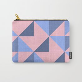 WOVEN PASTEL GEOMETRIC PATTERN Carry-All Pouch