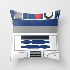 Star Wars - R2D2  Throw Pillow