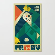 Friday 13 Canvas Print