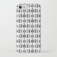 cameras iPhone & iPod Cases featuring Cameras  by Laura Maria Designs