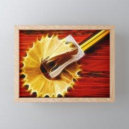 Sharpener Framed Mini Art Print