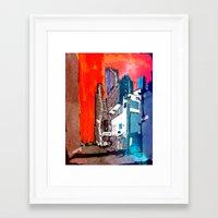 hong kong Framed Art Prints featuring Hong Kong by Jonas Ericson