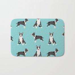 Bull Terrier dog breed pet friendly gifts terriers bull terriers Bath Mat