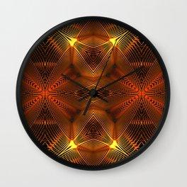 Golden Thread Wall Clock