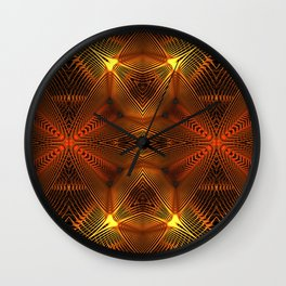 Golden Thread Wall Clock