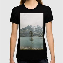 Lone Switzerland Tree - Landscape Photography T-shirt