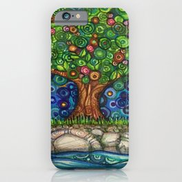 Grounded Tree iPhone Case