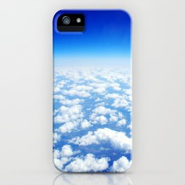 Looking Above the Clouds iPhone Case
