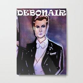Debonair Metal Print