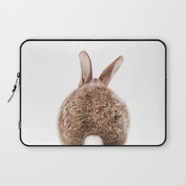 Bunny Tail, Brown Bunny Rabbit, Baby Animals Art Print By Synplus Laptop Sleeve
