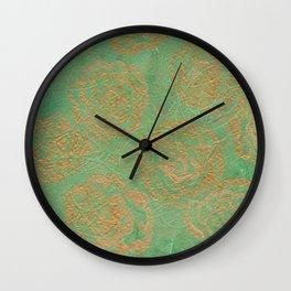 #26. ALEXA - Floral Wall Clock