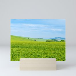 Bignor Hill. Mini Art Print