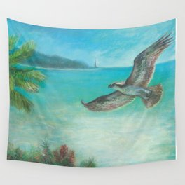 Belle's Journey: Island Hopping Wall Tapestry