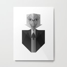 The First Doctor Who Metal Print