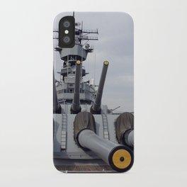 USS Iowa iPhone Case