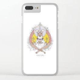 kanguru Clear iPhone Case