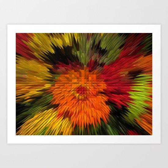 sharp boquet Art Print