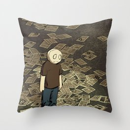Li'l Depressed Boy -- Got Your Money Throw Pillow