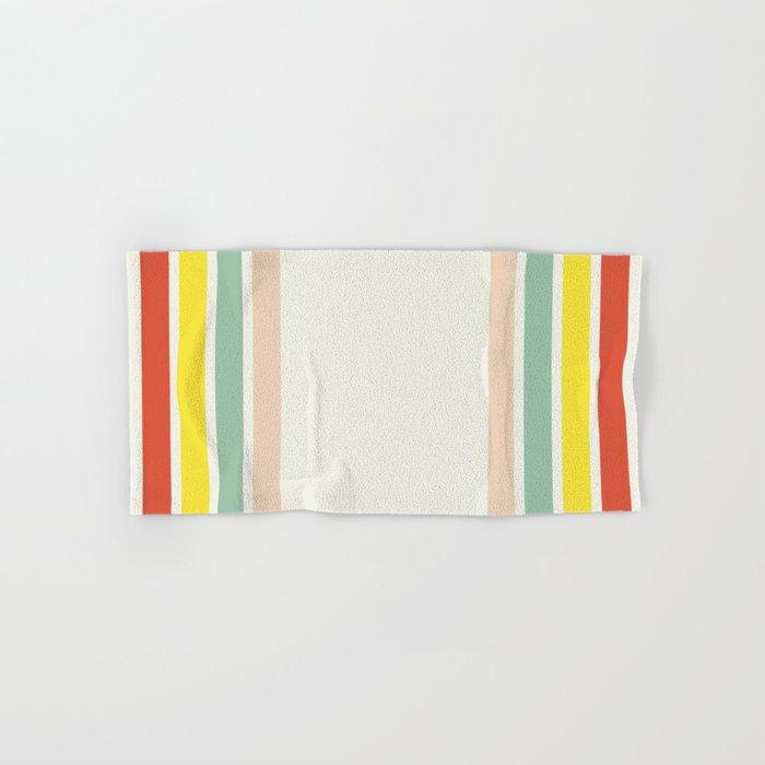 Summer Stripes Hand & Bath Towel
