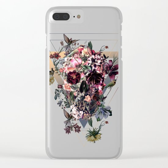 New Skull Clear iPhone Case