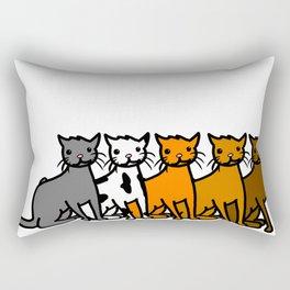 Cattern Pattern | Veronica Nagorny Rectangular Pillow