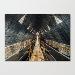 Basílica Walkway (Ecuador) Canvas Print