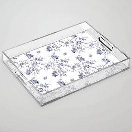 Penis Pattern Acrylic Tray