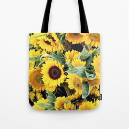 Happy Sunflowers Tote Bag