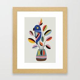 Rubberplant Framed Art Print