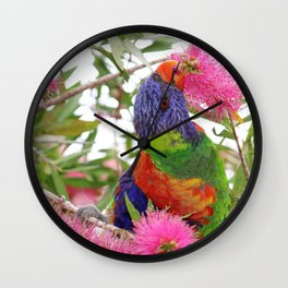 Springtime in Oz Wall Clock