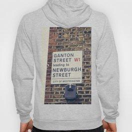 London street sign Hoody