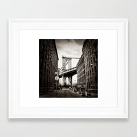 dumbo Framed Art Prints featuring Dumbo by Bradley Aldridge