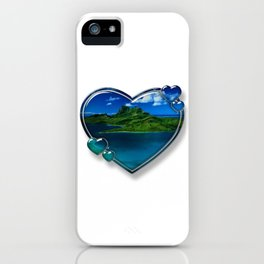 I Love Bora Bora 2 iPhone Case