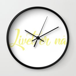 SKAM - Isak Valtersen - Livet er nå//Life is now Wall Clock